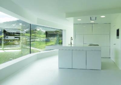 Valcuisines - cuisine laquée blanc brillant_L011