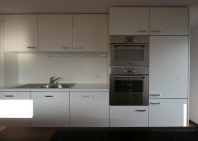 Valcuisines - cuisine stratifié bois et blanc_S024