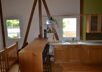 Valcuisines - cuisine chêne vernis mat_B067