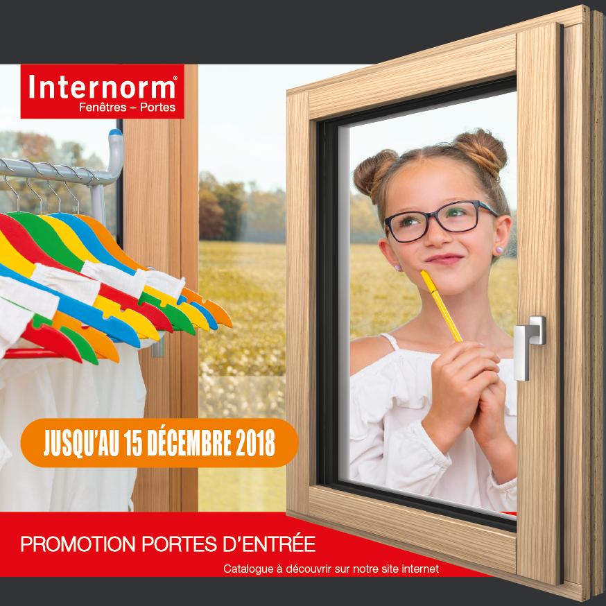 Promotion portes internorm_automne18 - offres