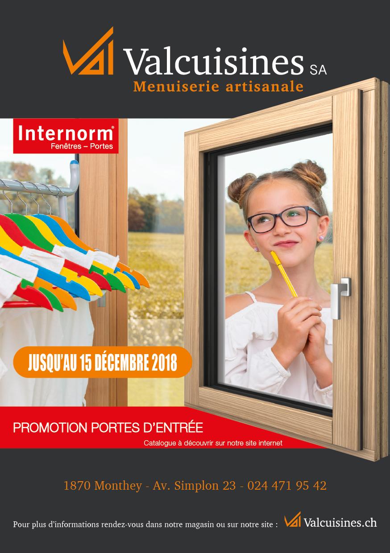 Promotion portes internorm_automne18