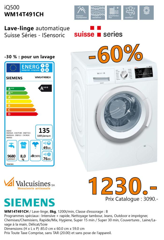 Valcuisines - Siemens_WM14T491CH