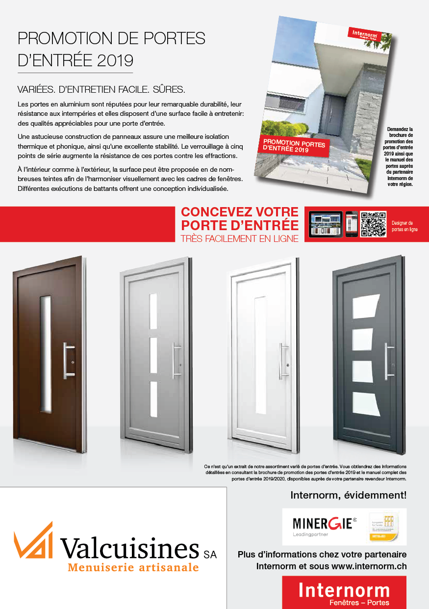 Promotion portes internorm 2_automne19-20