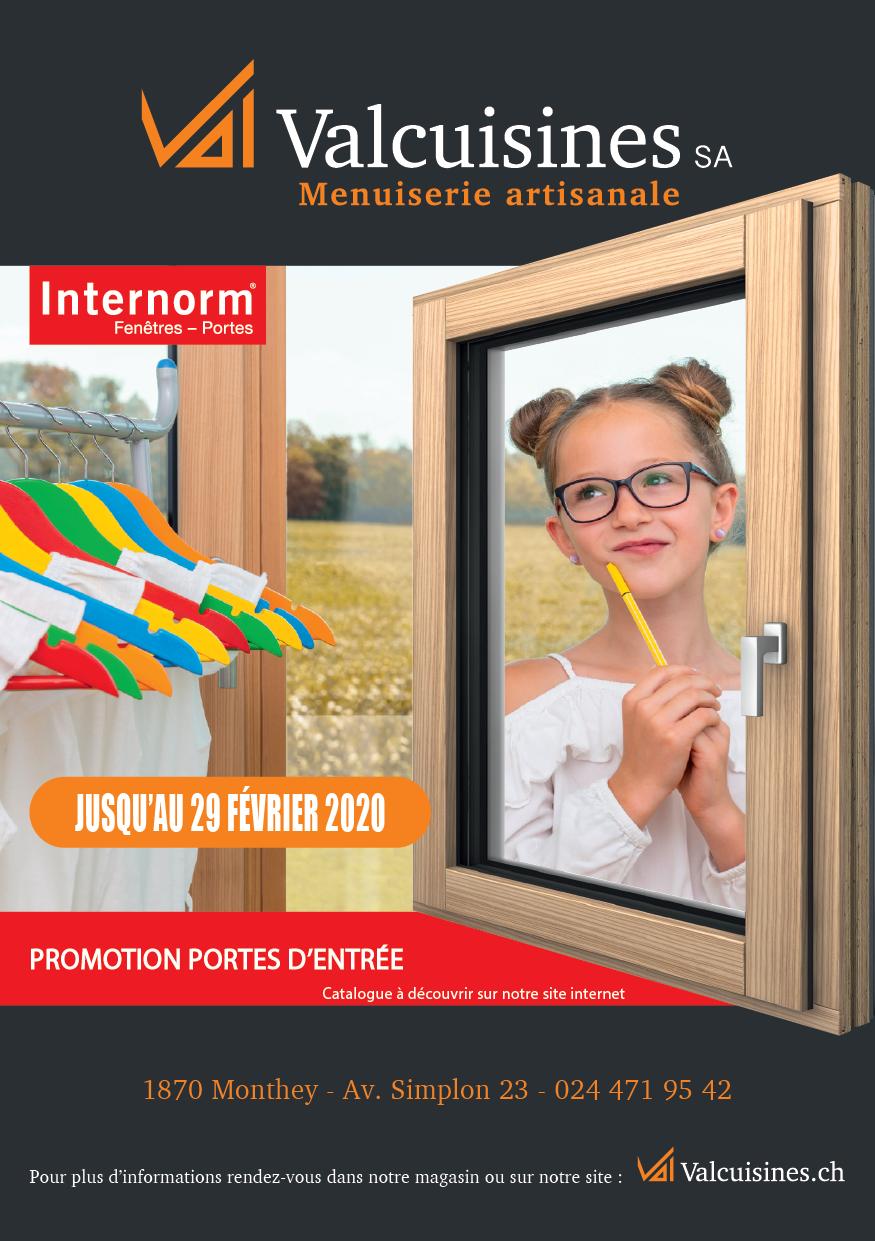 Promotion portes internorm_automne19-20